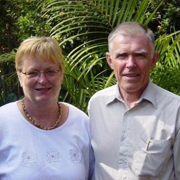 Kjellrún og Skúli í Pókot