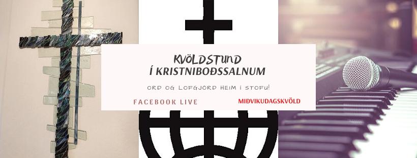 Streymi frá Kristniboðssalnum í kvöld 13. jan