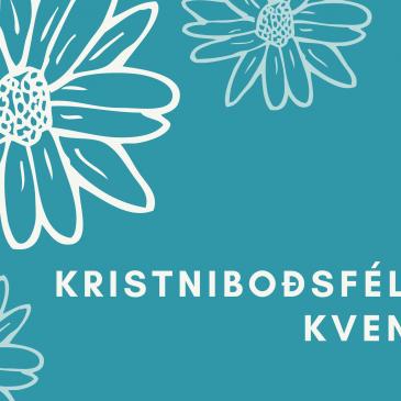 Haustdagskrá kristniboðsfélags kvenna í Reykjavík